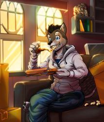 Break Time :3 (Commission Art)
