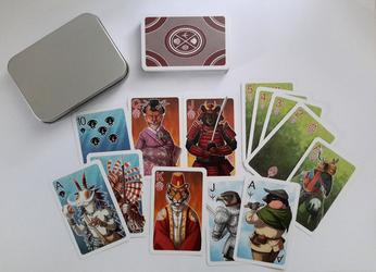 Anthro Card Set Printed