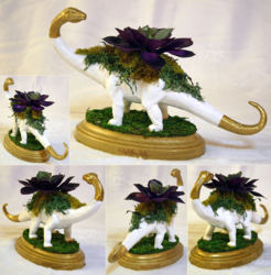 Sauropod Planter Centerpiece 2