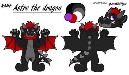 Astro the dragon
