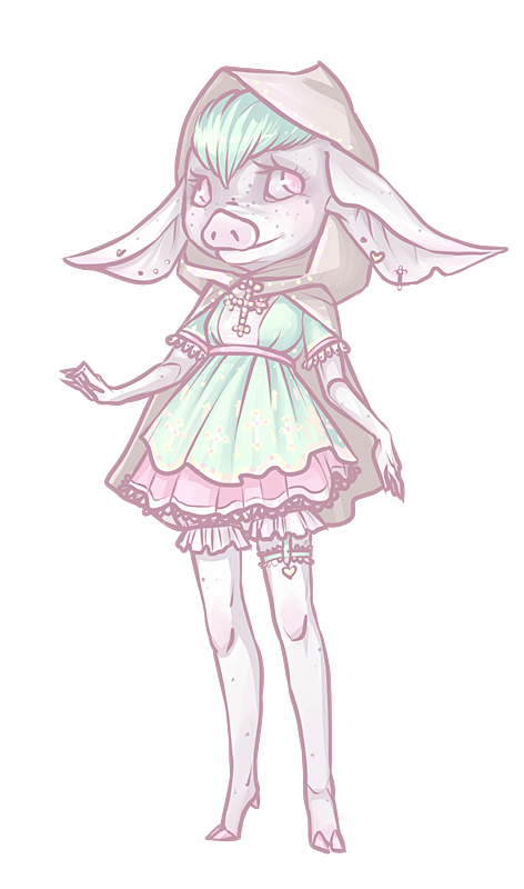 Pastel Piglet