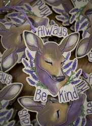 Be Kind Wooden Charms