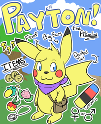[P] Payton the Pikachu!