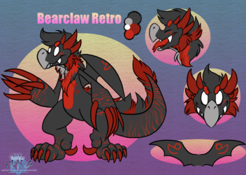 Retro Bearclaw