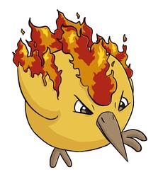 legendary borb: fire