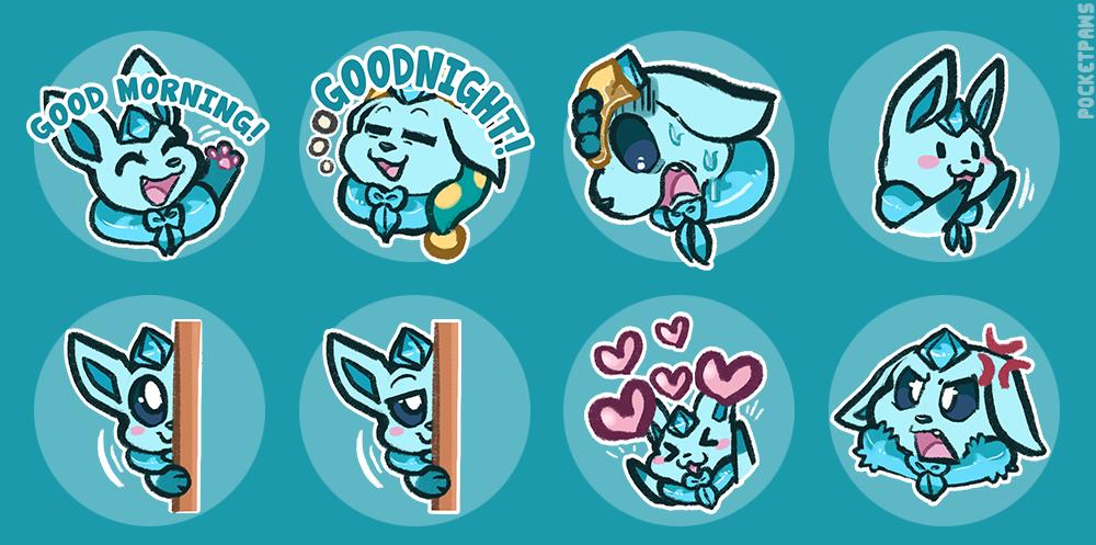 Shiver Emoji Sheet