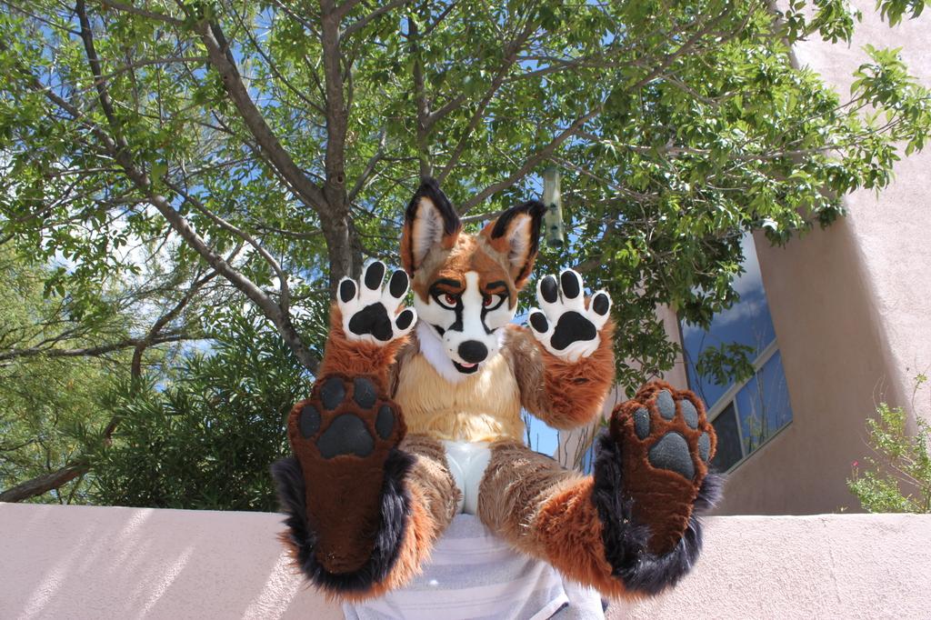 Look at my feets!