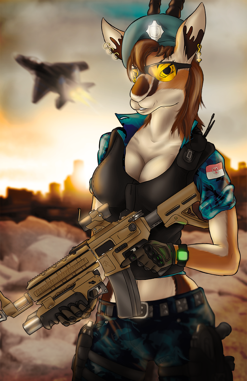 Military Gazelle - Commission