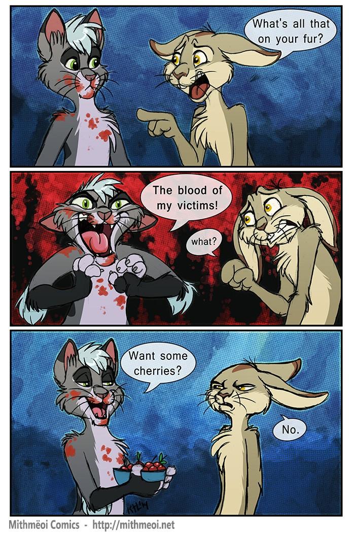 Comic: Blood