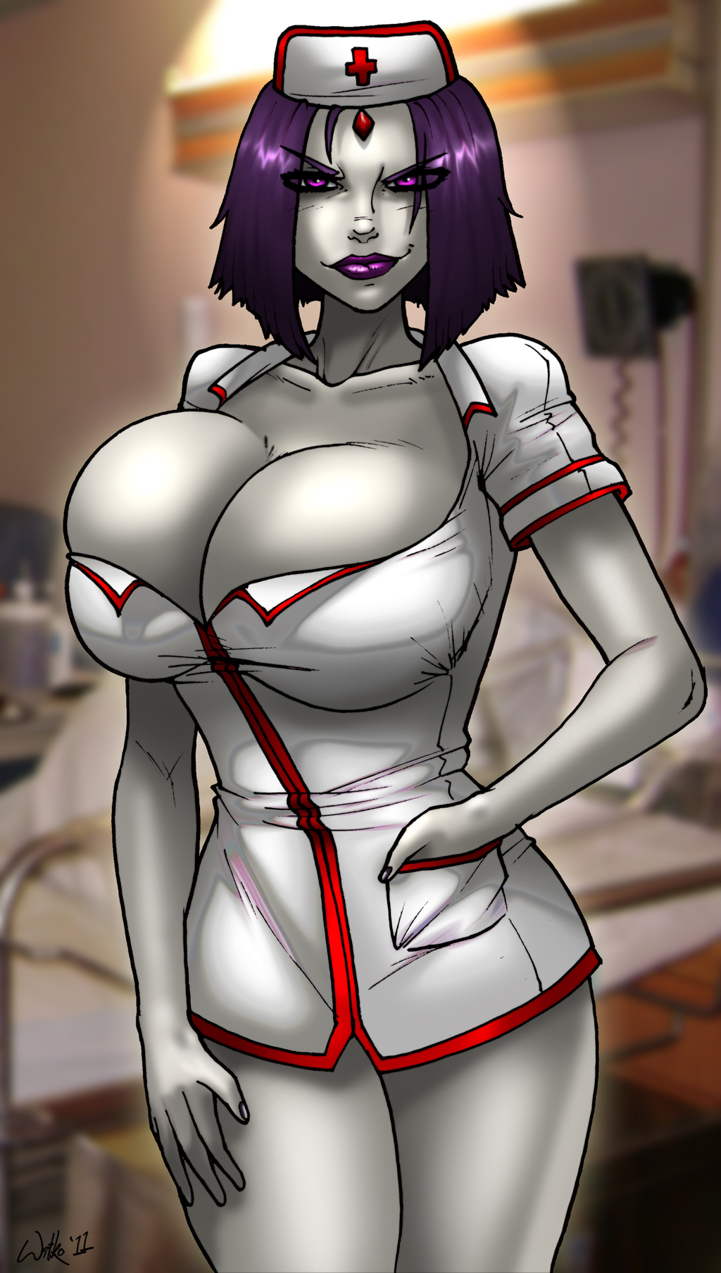 Paging Nurse Raven