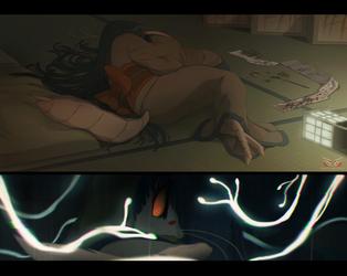 Blade Under Mask: Parasite