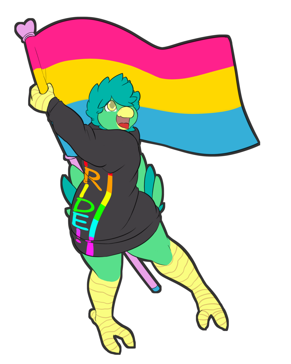 Most recent image: PRIDE! by CaineTheLongshot