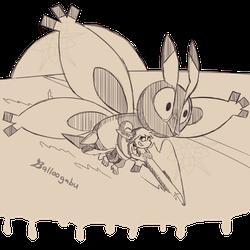 Minish's Joyride with Mothim