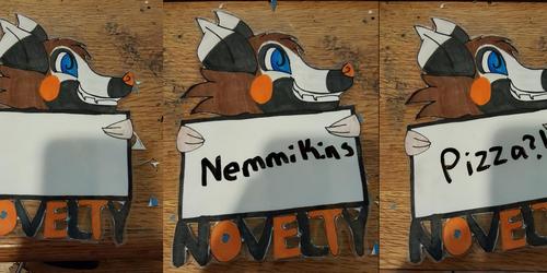Novelty Badge