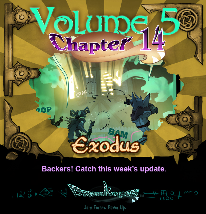 Volume 5 page 56 Update Announcement