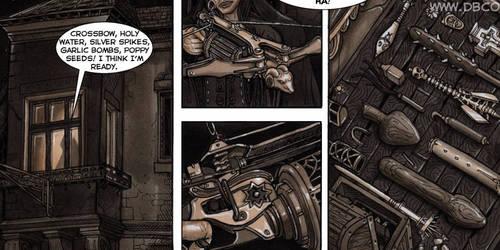 Vampire Huntress Comics