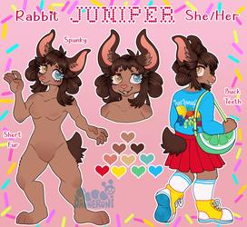 Juniper Rabbit Reference Sheet