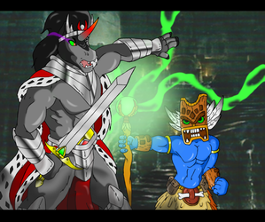 king sombra vs double trouble