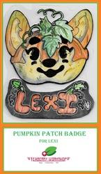 Pumpkin Patch Badge: Lexi