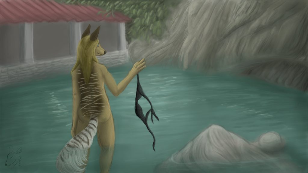 Most recent image: at the water spring