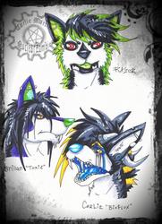 Wolf Heads 1