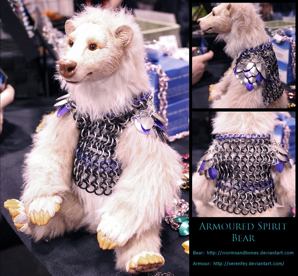 Bear Armour (for WormsandBones)