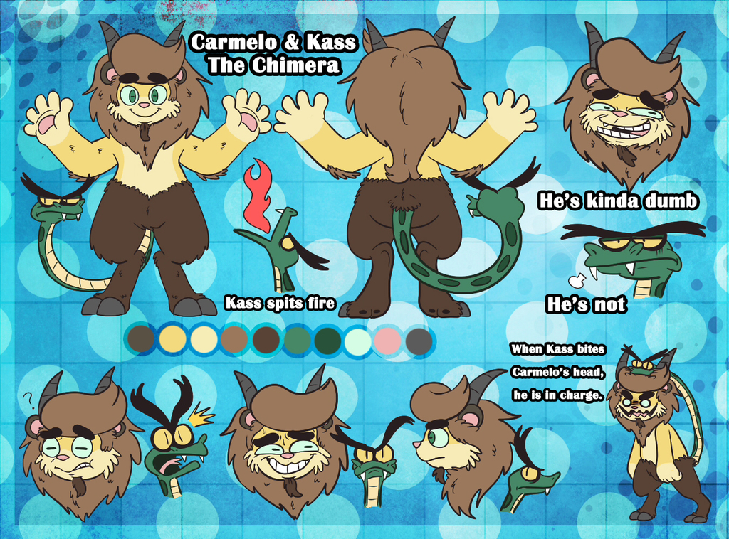Carmelo & Kass - Reference Sheet