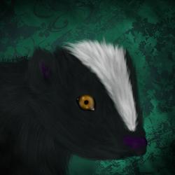 Misrie the sad skunk