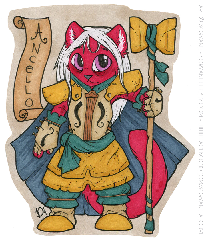 Ancello - Chibi Badge