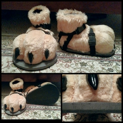 Demon Ferret Sandals
