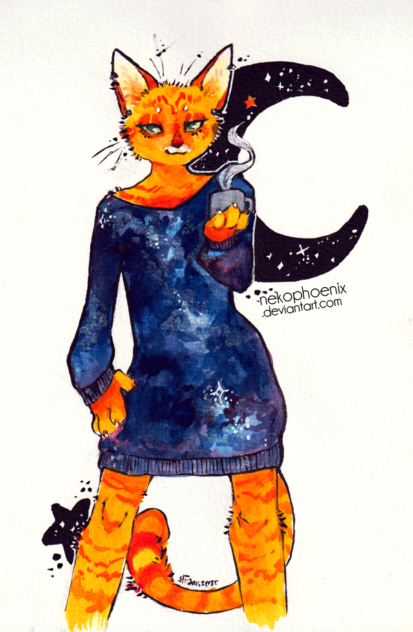 Tangerine Galaxy