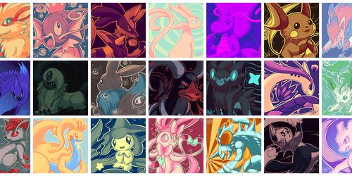 Palette Pokemon [Compilation]