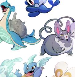 [fanart] Pokemon Twitter freebies