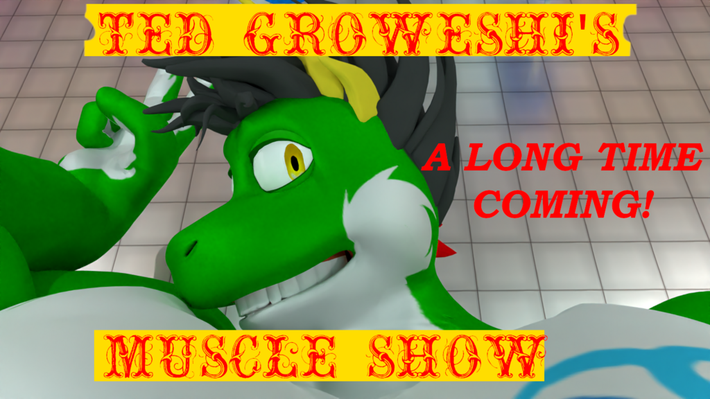 Ted Growshi's muscle show!