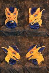 Pulsar the Dragon Head