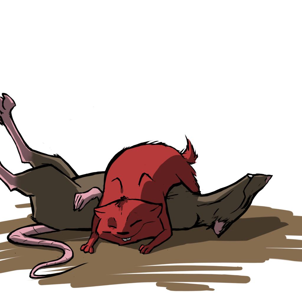 Cuddle the Rat