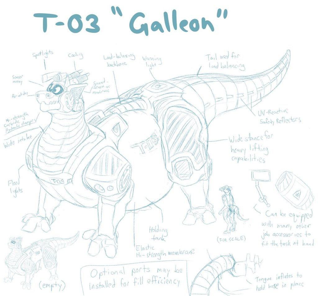 "Most recent image: T-03 ""Galleon"""