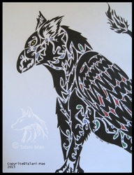 Tribal Gryphon Attempt