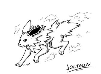 [Patreon Raffle] - Jolteon Ready for Battle!