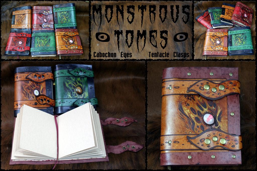 Sketchbooks::Monstrous Tomes