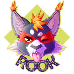 Rook Deluxe Badge
