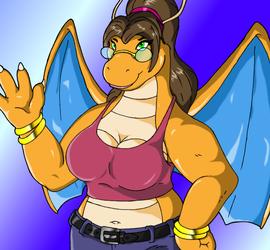 Susan the dragonite