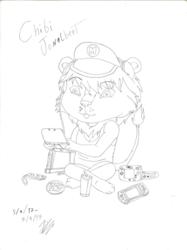 Chibi Jonalbert - Original sketch