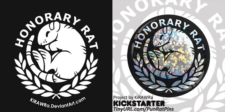 Honorary Rat [Kickstarter Exclusive Button]