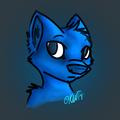 random blue canine
