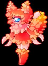 Puffy scorpion monster girl