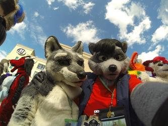 Sairys Wolf Selfie - RF 2015