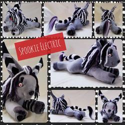 Spookie Electric Plushie