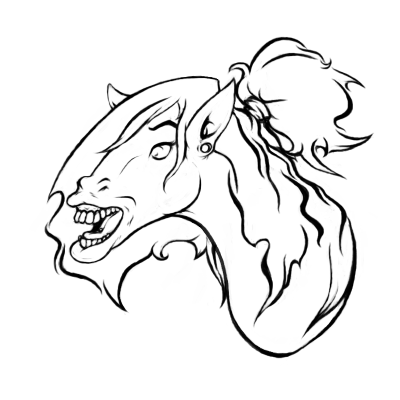 Most recent image: Horse Transformation [Face]