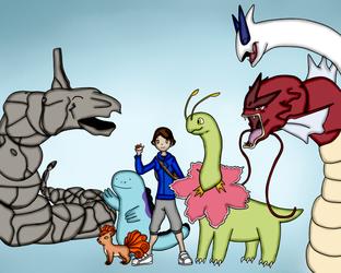 My Pokemon SoulSilver Team